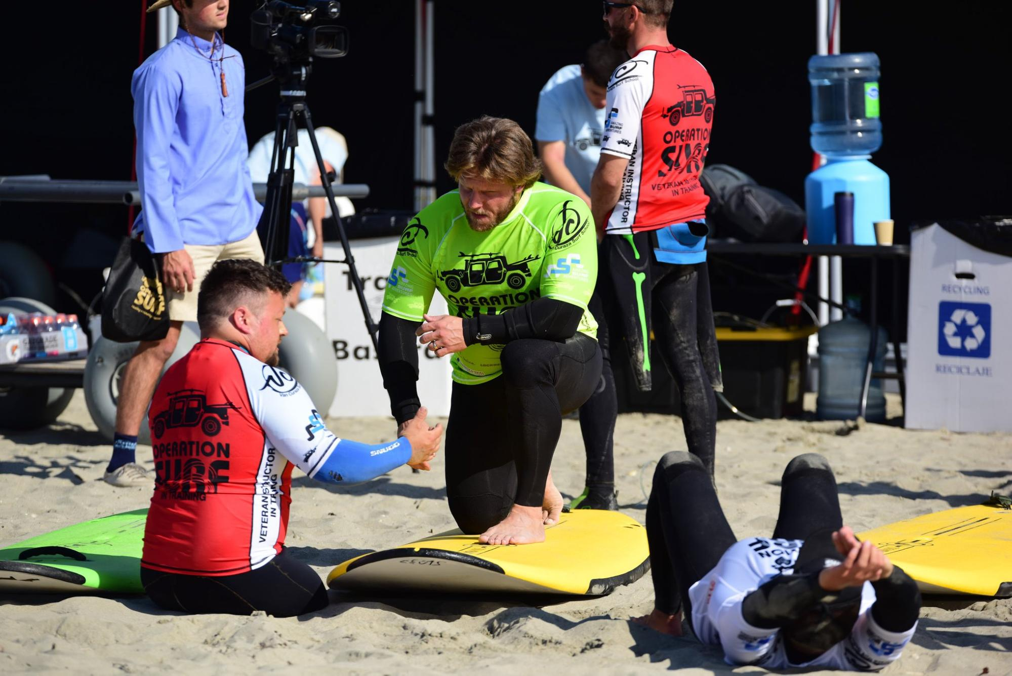Support for Wounded Veterans through<br>Operation Surf